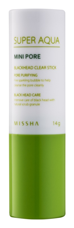 Missha Super Aqua Mini Pore čistilna paličica proti črnim pikicam