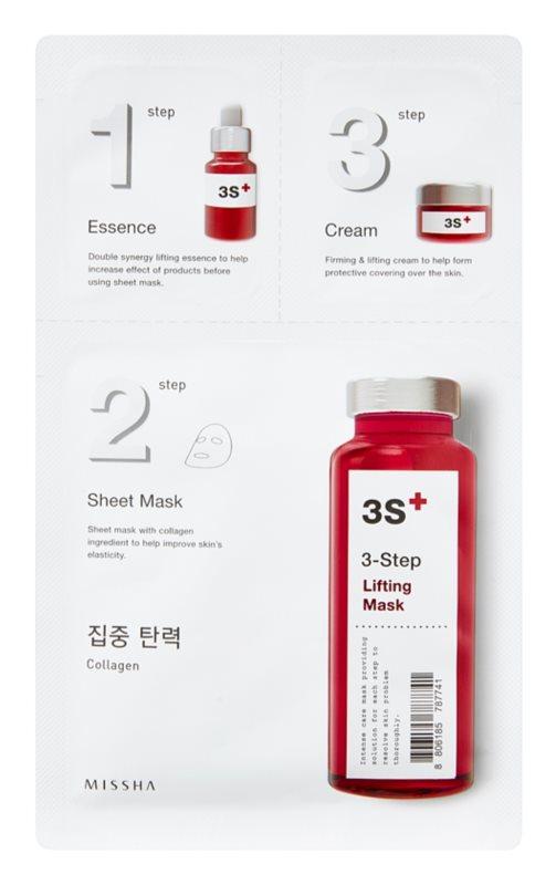 Missha 3-Step 3-Step Lifting Mask