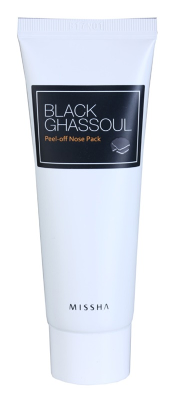 Missha Black Ghassoul Reinigende Abziehmaske für problematische Haut