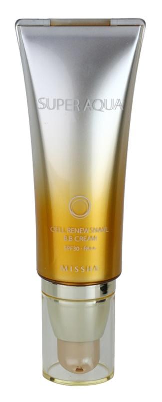 Missha Super Aqua Cell Renew Snail BB Cream With Snail Extract