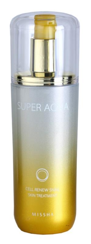 Missha Super Aqua Cell Renew Snail emulsão nutritiva com extrato de caracol