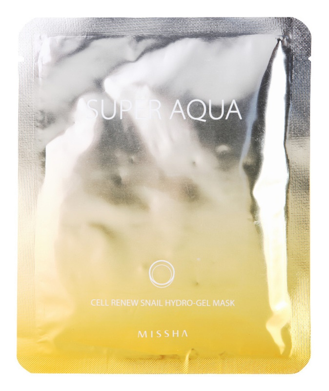 Missha Super Aqua Cell Renew Snail Hydrating Mask With Snail Extract