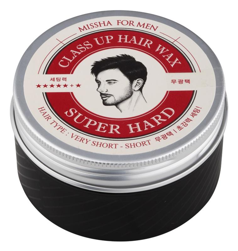 Missha For Men Class Up Hair Wax cera de cabelo para uma fixação extra forte