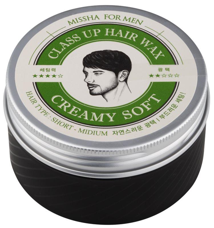 Missha For Men Class Up Hair Wax krémes viasz hajra