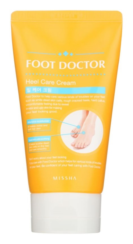 Missha Foot Doctor creme regenerador nutritivo para pés secos e rachados