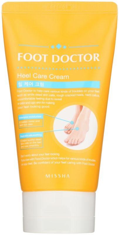Missha Foot Doctor nährende und regenerierende Creme gegen trockene und rissige Fußsohlen