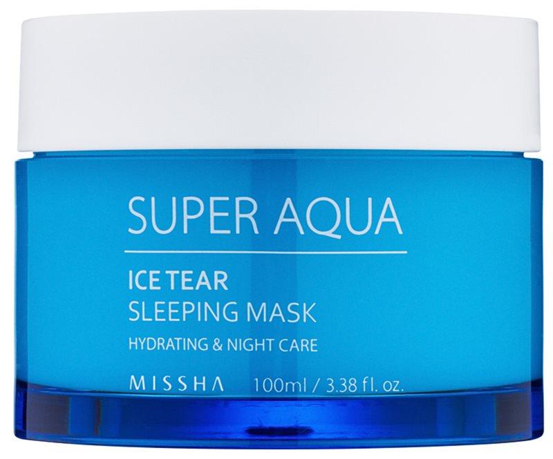 Missha Super Aqua Ice Tear masque de nuit hydratant visage