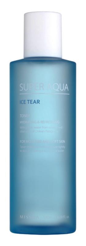 Missha Super Aqua Ice Tear зволожуючий тонік для обличчя