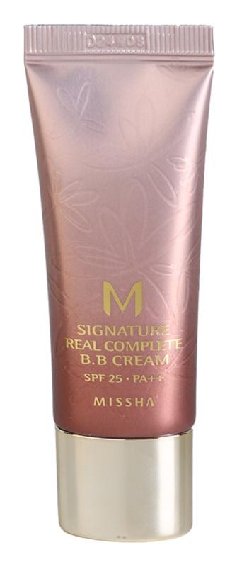 Missha M Signature Real Complete crema BB para unificar el tono de la piel mini