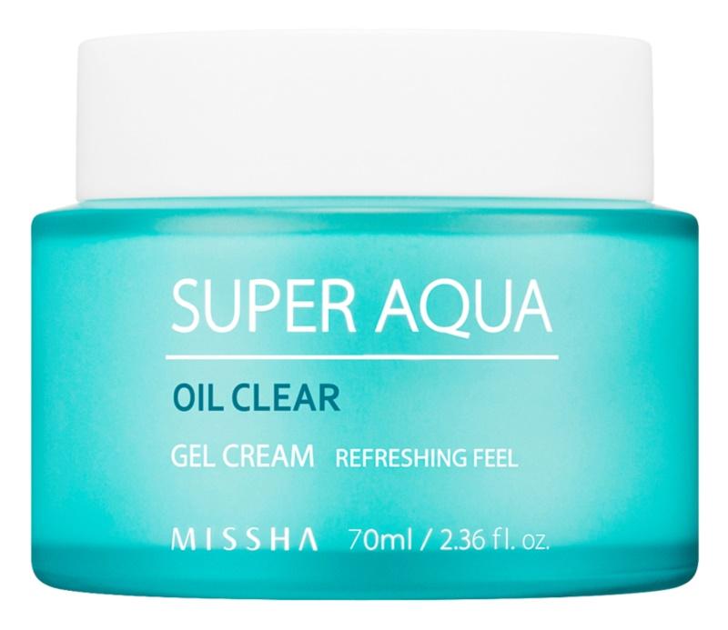 Missha Super Aqua Oil Clear hydratisierende Gel-Creme