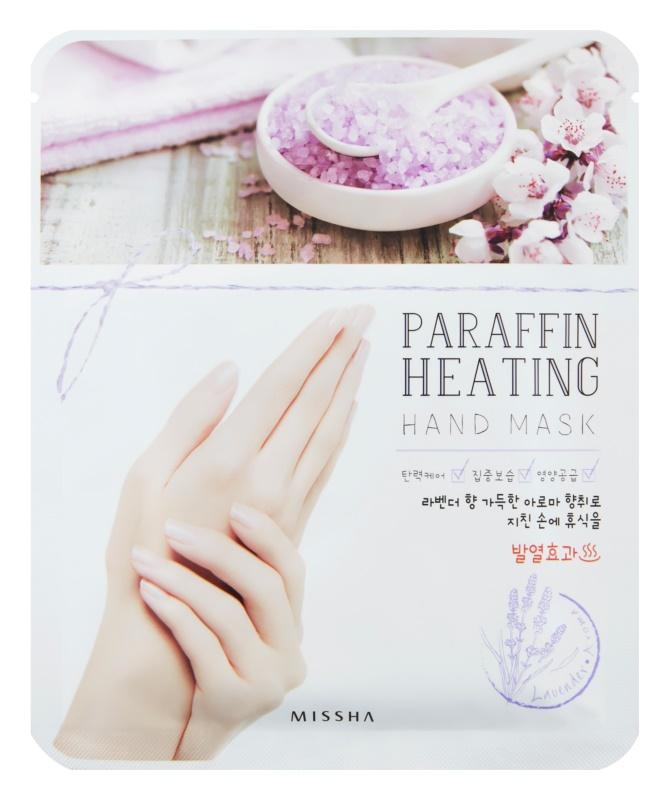 Missha Paraffin Heating parafínová maska na ruce se zahřívacím efektem