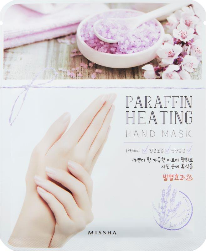 Missha Paraffin Heating parafínová maska na ruky so zahrievacím efektom