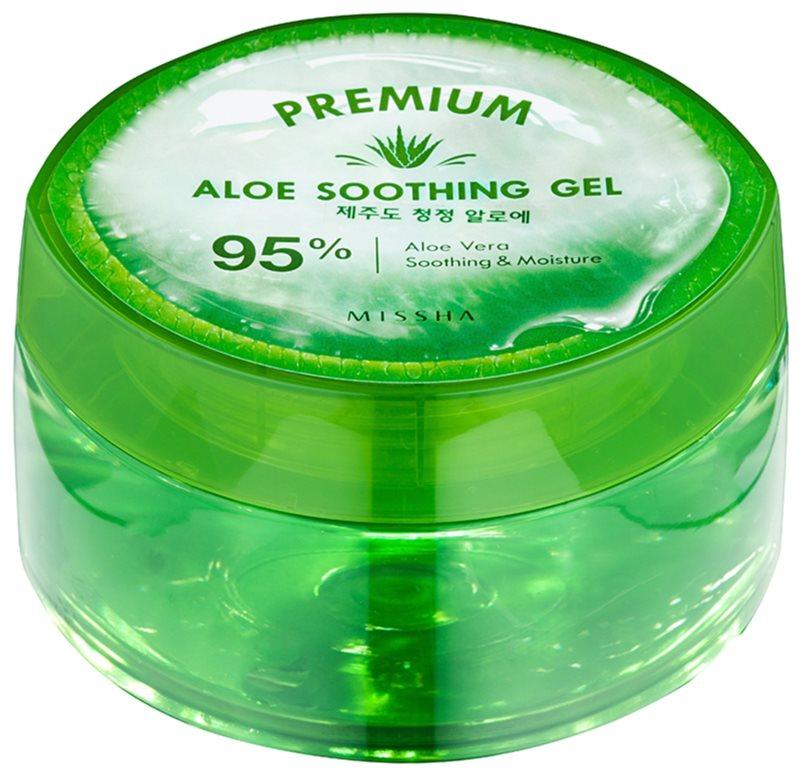 Missha Premium feuchtigkeitsspendende und beruhigende Creme mit Aloe Vera