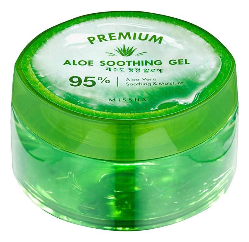 Missha Premium gel hidratant cu efect de calmare cu aloe vera