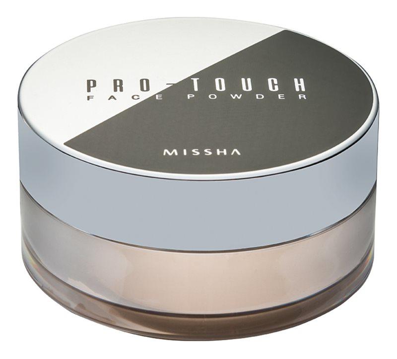 Missha Pro-Touch прозора пудра  SPF 15