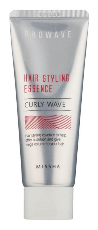 Missha Prowave Stylingpräparat für Volumen und einen lockigen Look der Haare