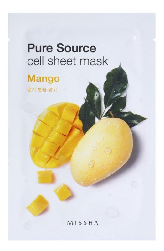 Missha Pure Source Sheet Mask with Moisturizing Effect