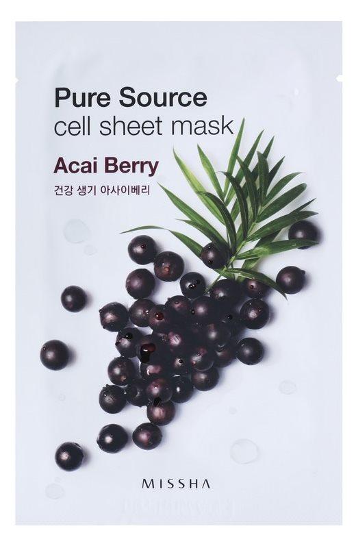 Missha Pure Source plátenná maska s revitalizačným účinkom