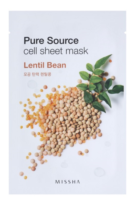 Missha Pure Source Softening and Refreshing Cloth Facial Mask