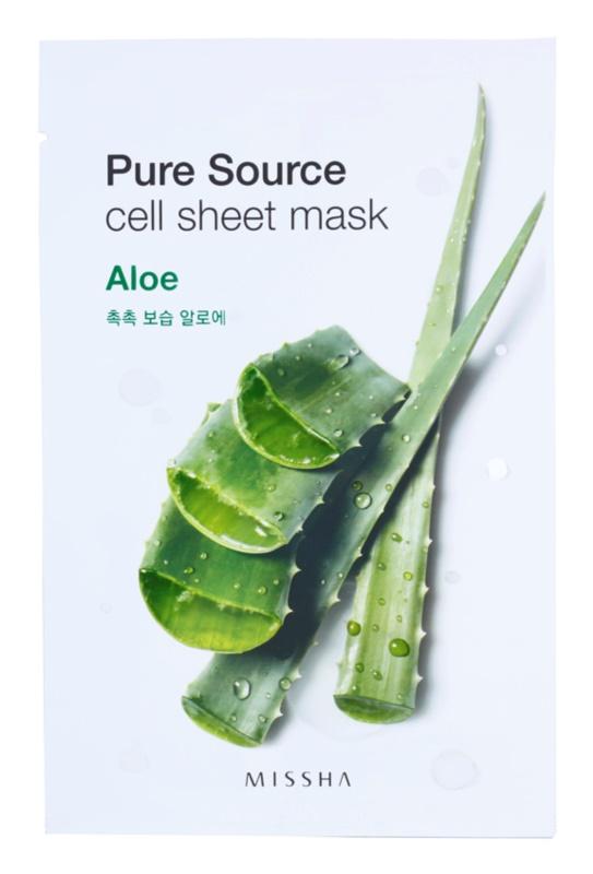 Missha Pure Source Moisturising and Smoothing Sheet Mask