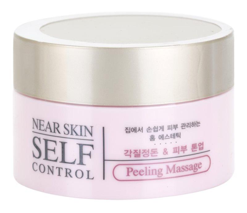 Missha Near Skin Self Control crema exfoliante para masaje facial