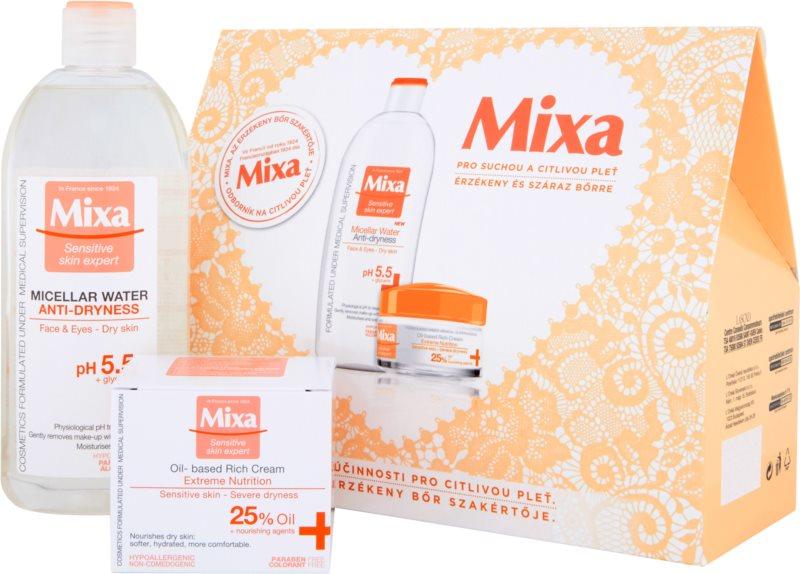 MIXA Anti-Dryness kozmetika szett III.