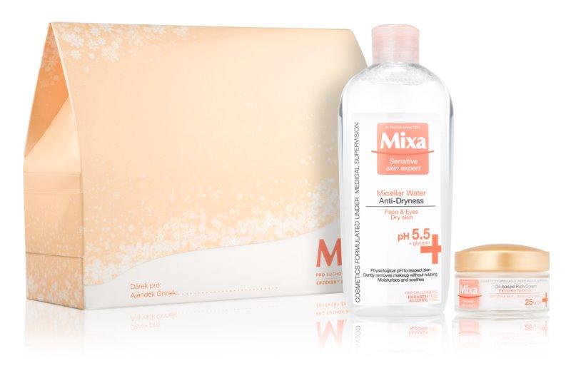 MIXA Anti-Dryness lote cosmético II.