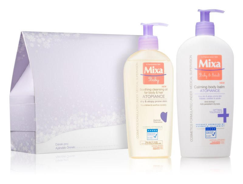 MIXA Anti-Dryness косметичний набір IV.