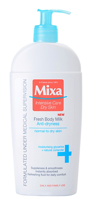 MIXA Anti-Dryness Refreshing Body Lotion For Normal And Dry Skin