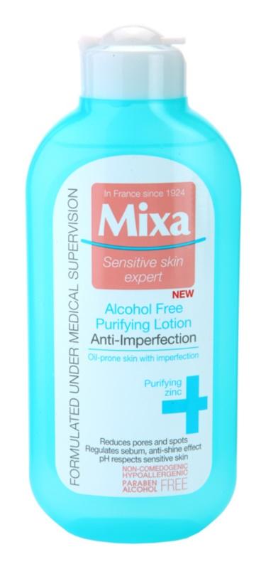 MIXA Anti-Imperfection čistilna voda za obraz brez alkohola