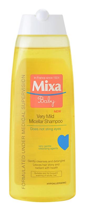 MIXA Baby champô micelar muito suave  para crianças