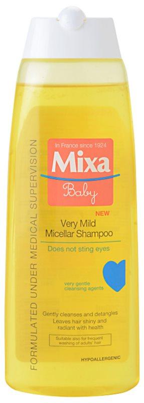 MIXA Baby nagyon lágy micelláris sampon gyermekeknek