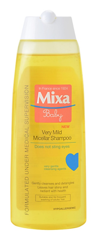 MIXA Baby изключително нежен мицеларен шампоан за деца