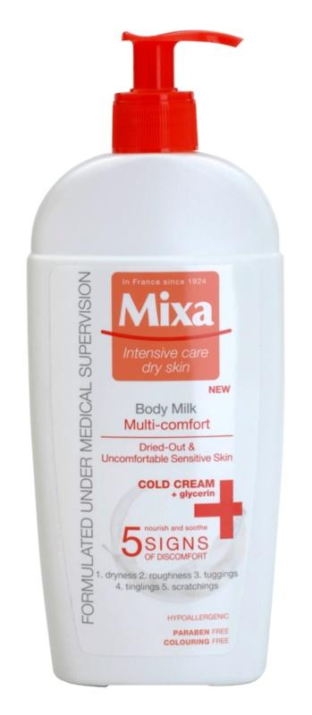 MIXA Multi-Comfort освіжаюче молочко для тіла для чутливої шкіри