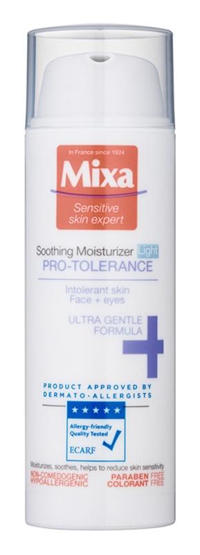 MIXA Pro-Tolerance ľahký hydratačný krém pre intolerantnú pleť