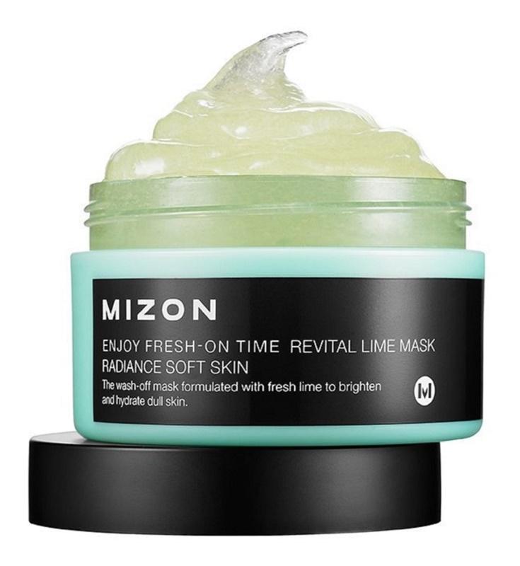 Mizon Enjoy Fresh-On Time revitalizacijska maska z limeto za povešeno kožo
