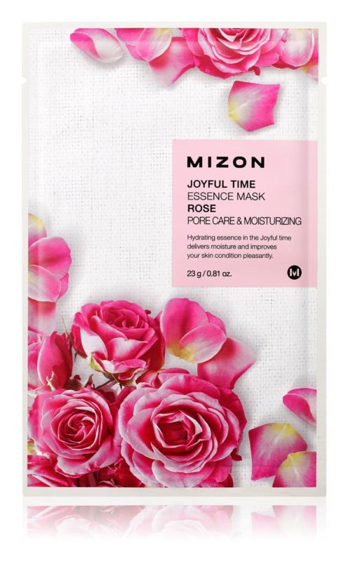 Mizon Joyful Time vlažilna tekstilna maska za zmanjšanje por