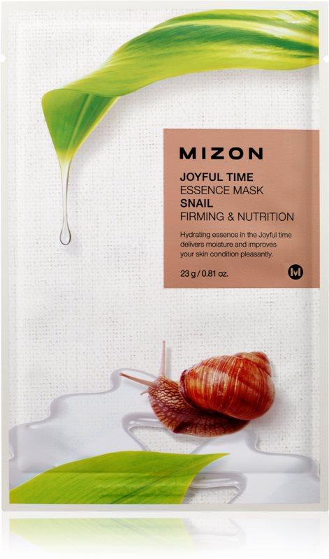 Mizon Joyful Time hranilna tekstilna maska z učvrstitvenim učinkom