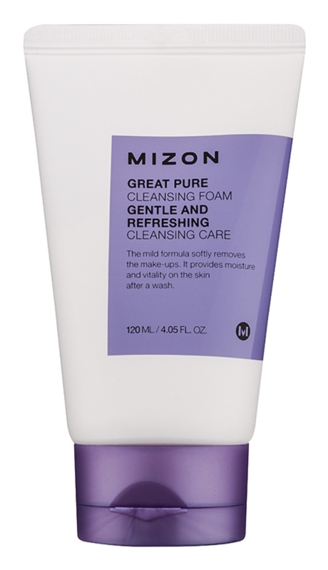 Mizon Great Pure čistiaca pena  na tvár