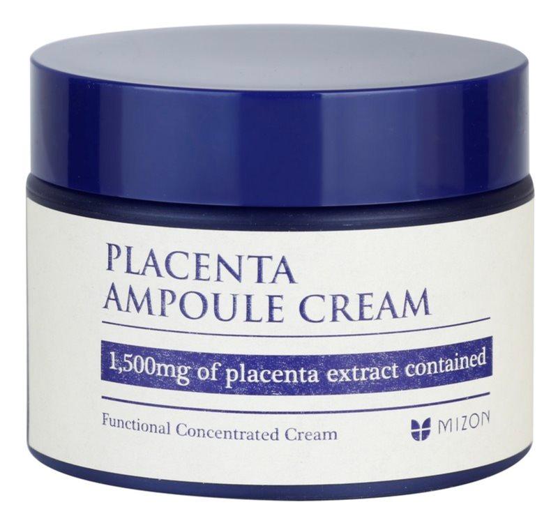 Mizon Placenta Ampoule Cream krém pro regeneraci a obnovu pleti