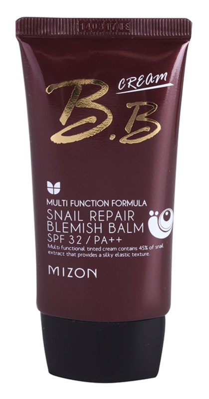 Mizon Multi Function Formula  Crema BB cu extract de melc SPF 32
