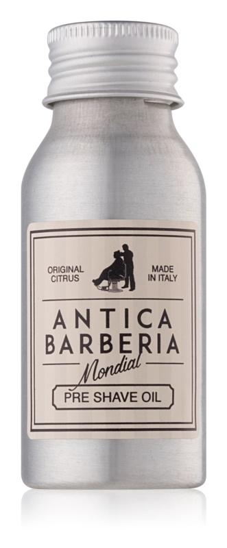 Mondial Antica Barberia Original Citrus olje pred britjem