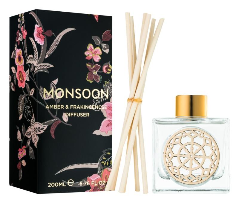 Monsoon Amber & Frakincense diffusore di aromi con ricarica 200 ml