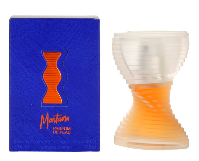 Montana Parfum de Peau Eau de Toilette for Women 50 ml