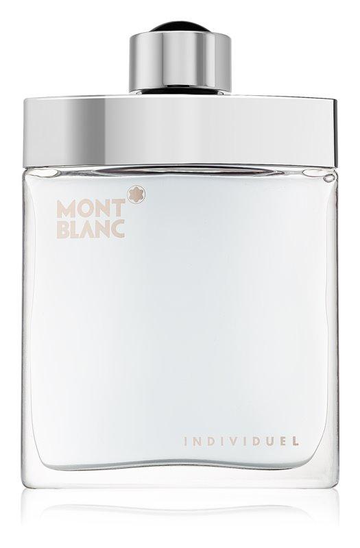 Montblanc Individuel eau de toilette férfiaknak 75 ml