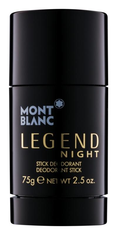 Montblanc Legend Night deostick pre mužov 75 g