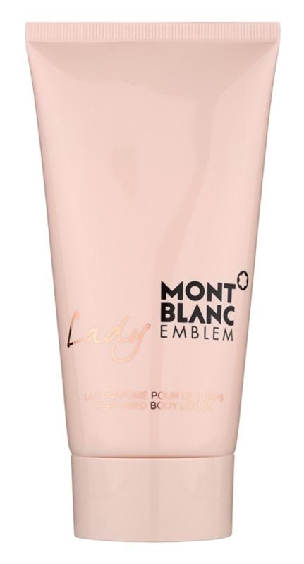 Montblanc Lady Emblem testápoló tej nőknek 150 ml