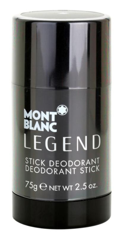 Montblanc Legend dédorant stick pour homme 75 g