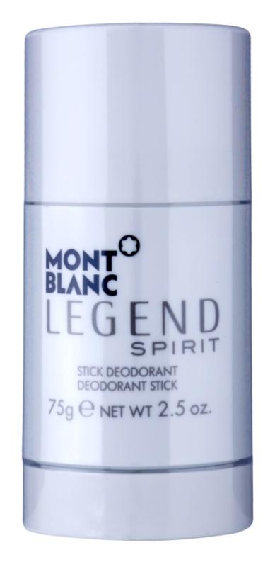 Montblanc Legend Spirit dédorant stick pour homme 75 g