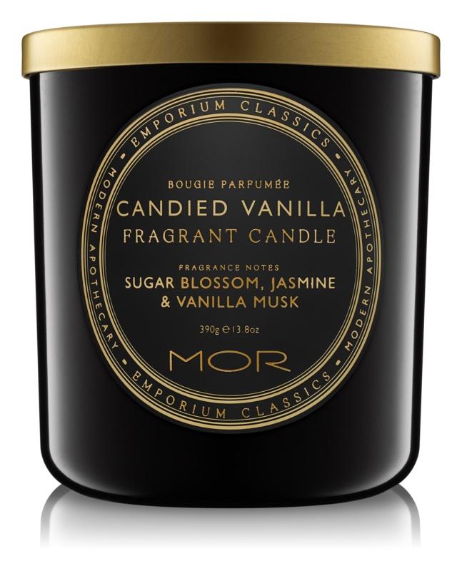 MOR Candied Vanilla ароматна свещ  390 гр.